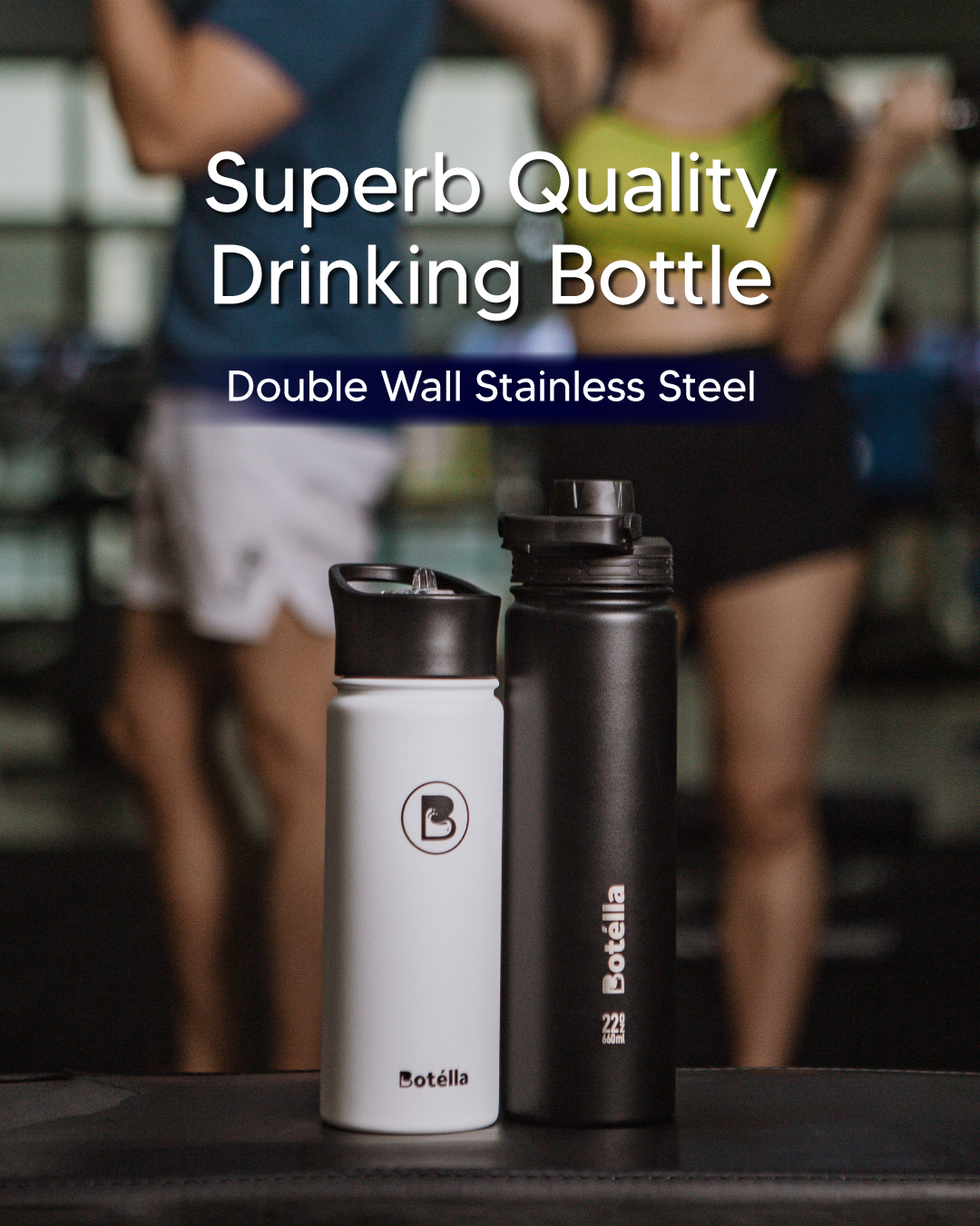 BOTELLA 18OZ Vacuum Flask with Lid
