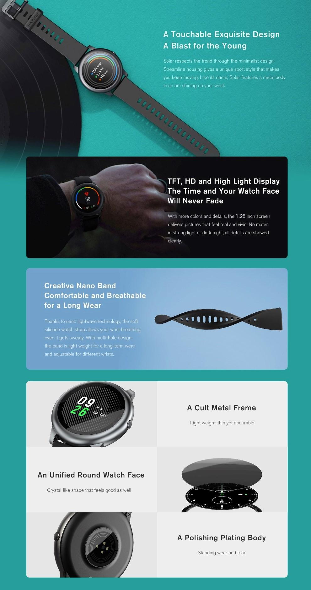 Haylou LS05 Solar Smartwatch 02 1