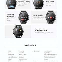 Haylou LS05 Solar Smartwatch 06