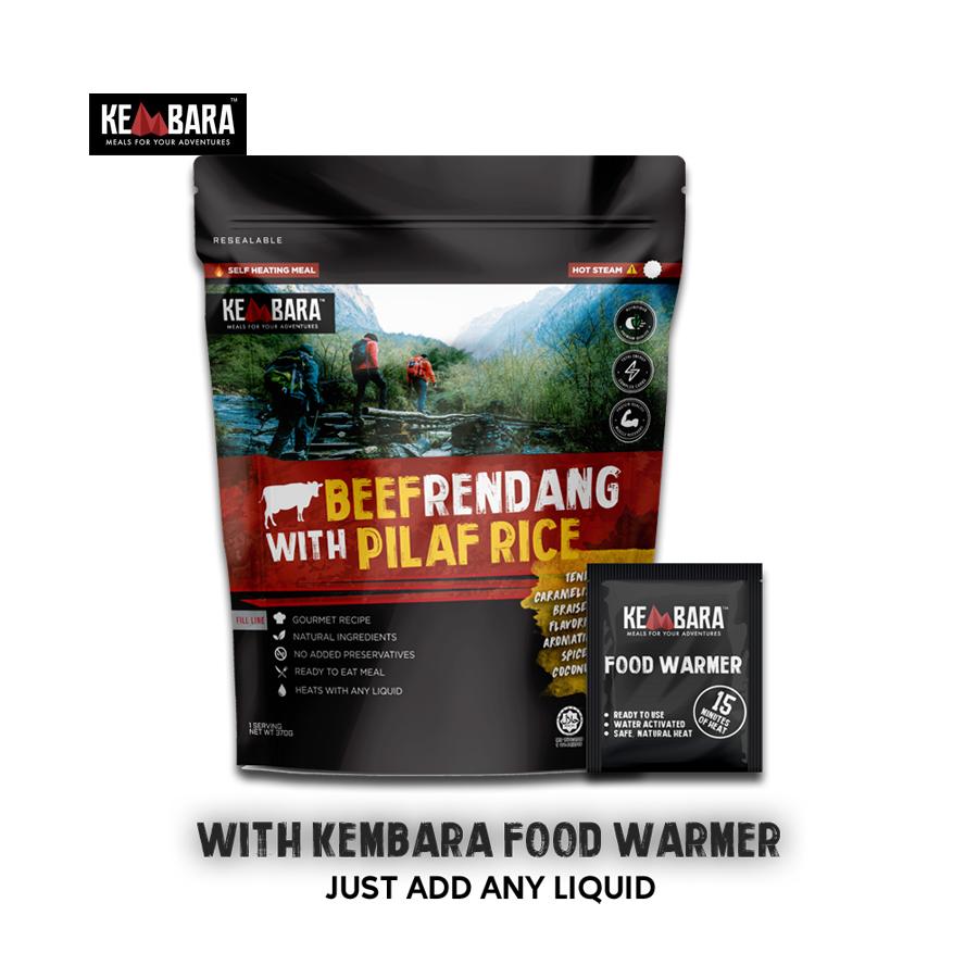 KEMBARA Beef Rendang With Pilat Rice