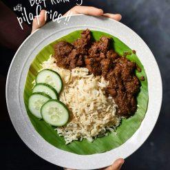 KEMBARA Beef Rendang With Pilat Rice2