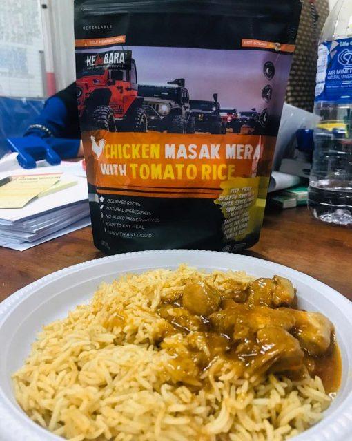 KEMBARA Chicken Masak Merah with Tomato Rice2