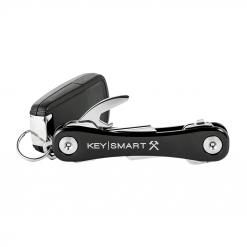 KEYSMART Rugged Key Holder Black