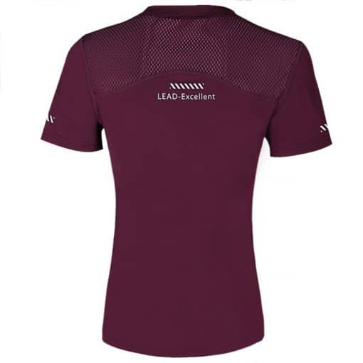 LEAD Women Sport Shirt Dark Purple 1 1