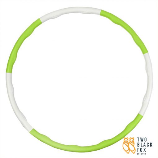 TBF 7PCS Fitness Hula Hoop Green