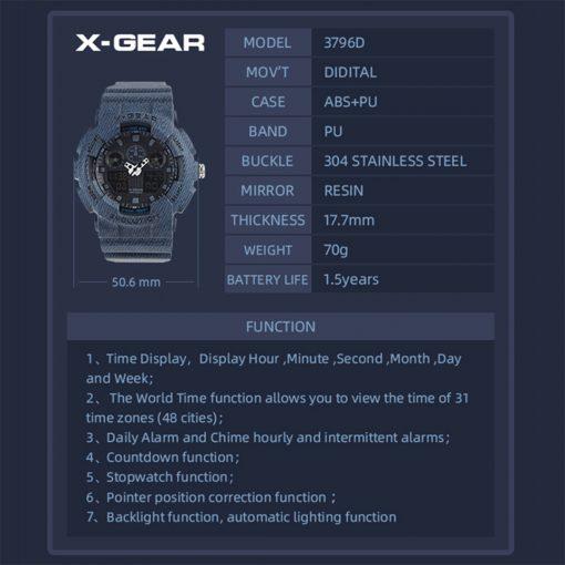 X Gear 3796D 6