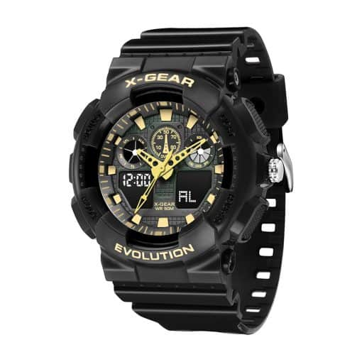 X Gear 3796D Black Gold