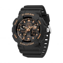 X Gear 3796D Black Rose Gold