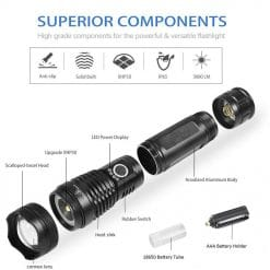 Xinsite X80 Torchlight with USB Charger 1