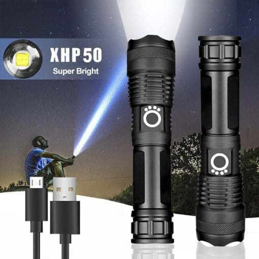 Xinsite X80 Torchlight with USB Charger 4