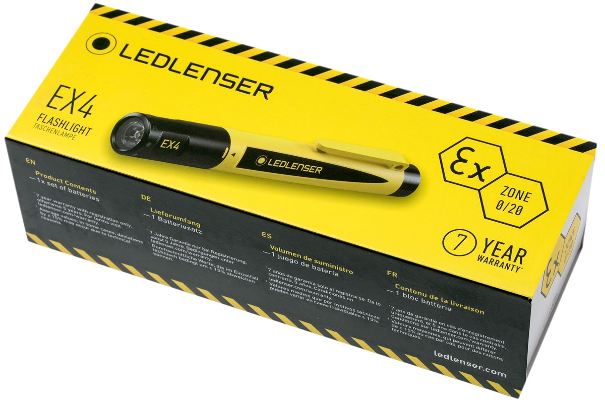 LEDLENSER ATEX EX Flashlight