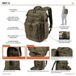 5.11 TACTICAL Rush 12 Backpack7