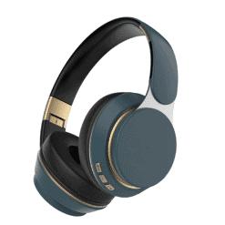 Baze Wireless Bluetooth Headphone Sapphire Blue