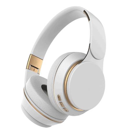 Baze Wireless Bluetooth Headphone WhitePearl