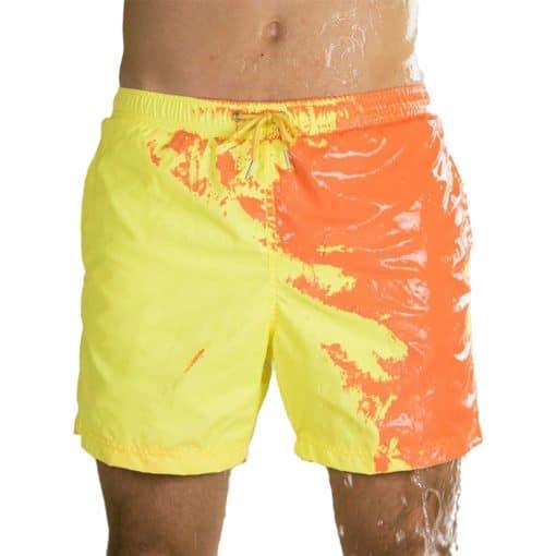 Chameleons Beach Short Pants Lava 1