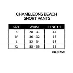 Chameleons Beach Short Pants SZ