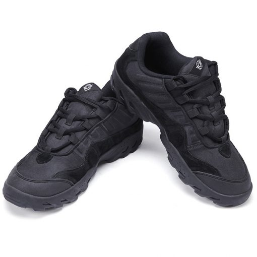 Esdy Low Top Outdoor Tactical Shoes Black 2