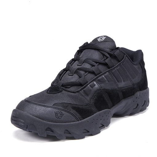 Esdy Low Top Outdoor Tactical Shoes Black 4