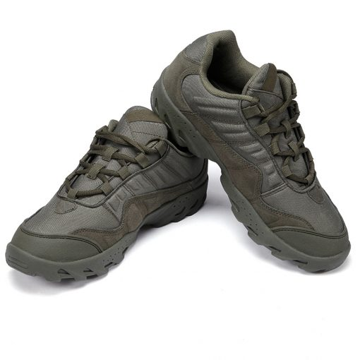Esdy Low Top Outdoor Tactical Shoes Green 2