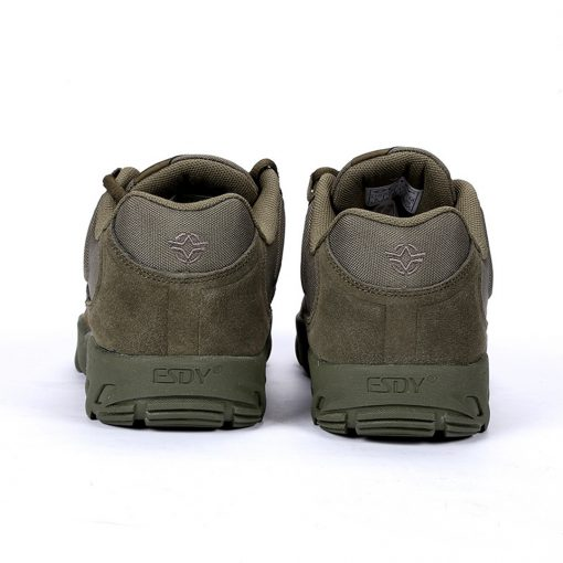 Esdy Low Top Outdoor Tactical Shoes Green 5