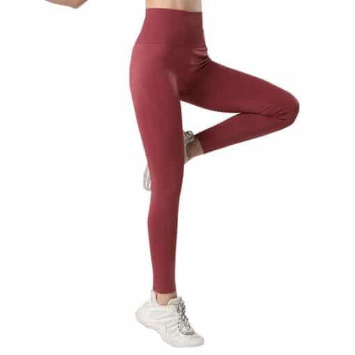 Flex Female High Waist Legging Cherry Red 1
