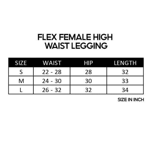 Flex Female High Waist Legging sz