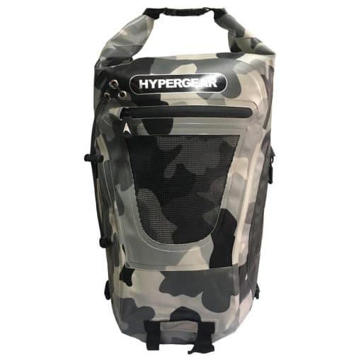 HYPERGEAR 20L Dry Pac Tough Backpack Camo Green