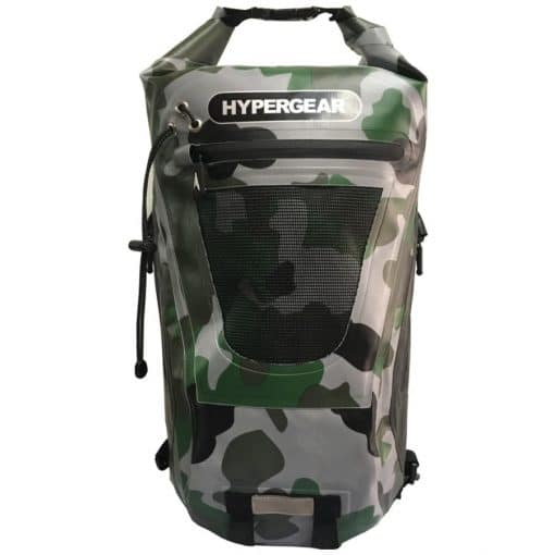 HYPERGEAR 20L Dry Pac Tough Backpack Camo Green Delta