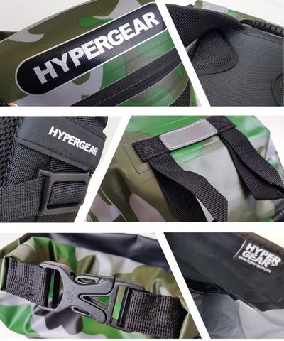HYPERGEAR 20L Dry Pac Tough Backpack Labels