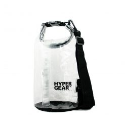Hypergear Dry Bag 5L Transparent Front