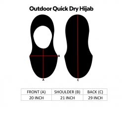 Outdoor Quick Dry Hijab