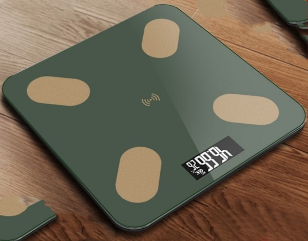 Digital Solar Weighing Scale with USB, hiking, camping, outdoor