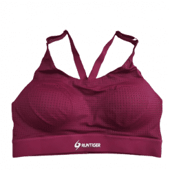 RunTiger Mid-Impact Sports Bra Red