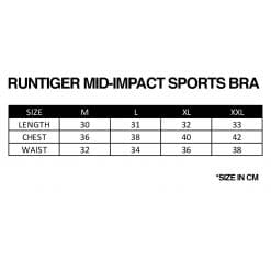 RunTiger Mid-Impact Sports Bra