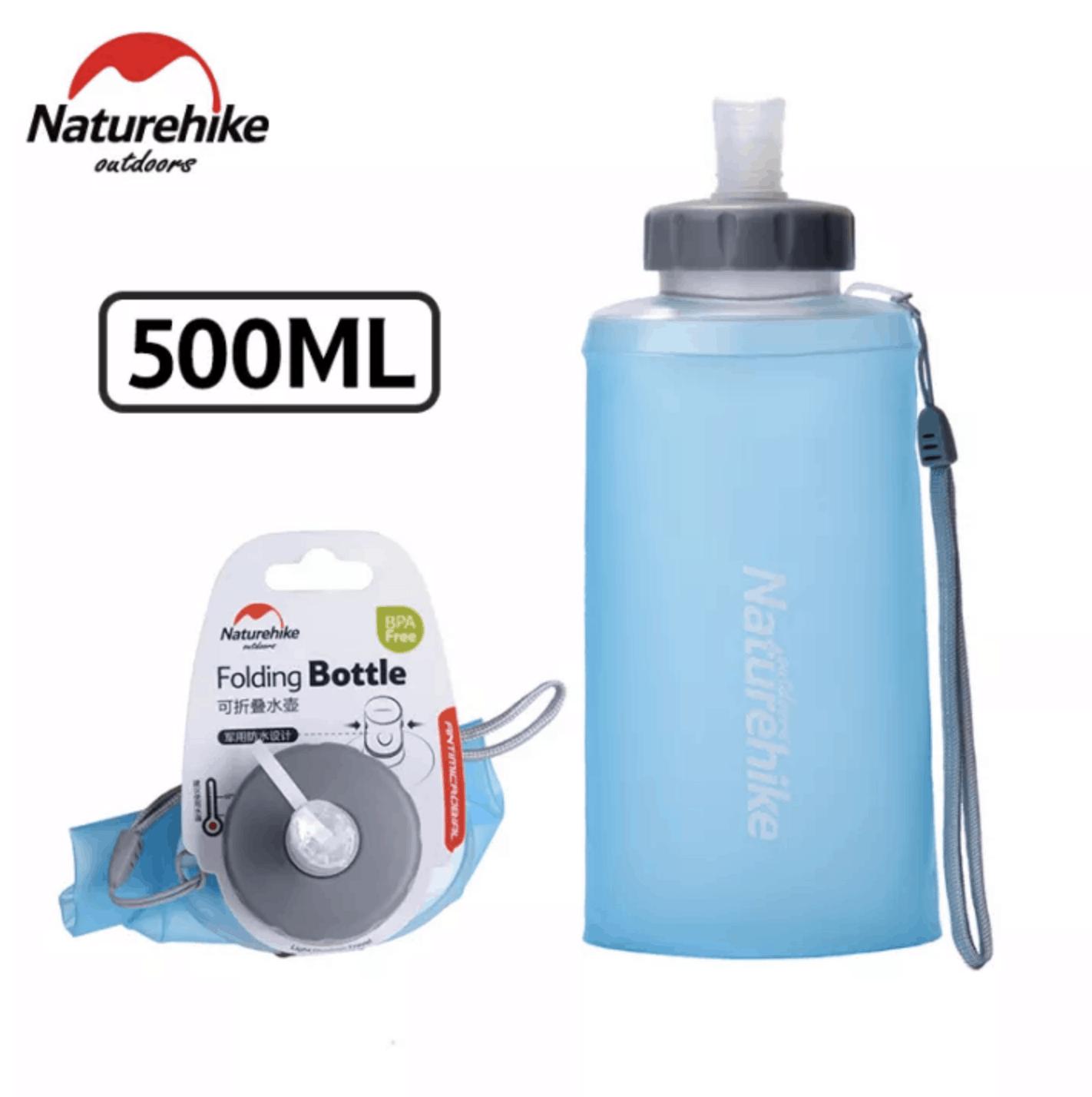 Folding Bottle, Naturehike Bottle, Eco-friendly Bottle, Hiking Bottle, Running Bottle, Botol Mesra Alam Sekitar