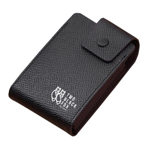 TBF Leather Wallet with Card Holder Black