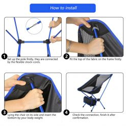 2Ultralight Compact Foldable Chair