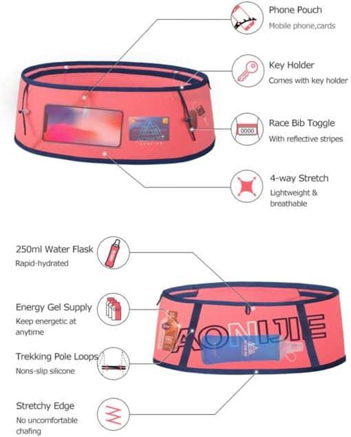 AONIJIE Sports Embracer Ultra light Waist Bag4