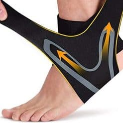 Ankle Support with Adjustable Strap1