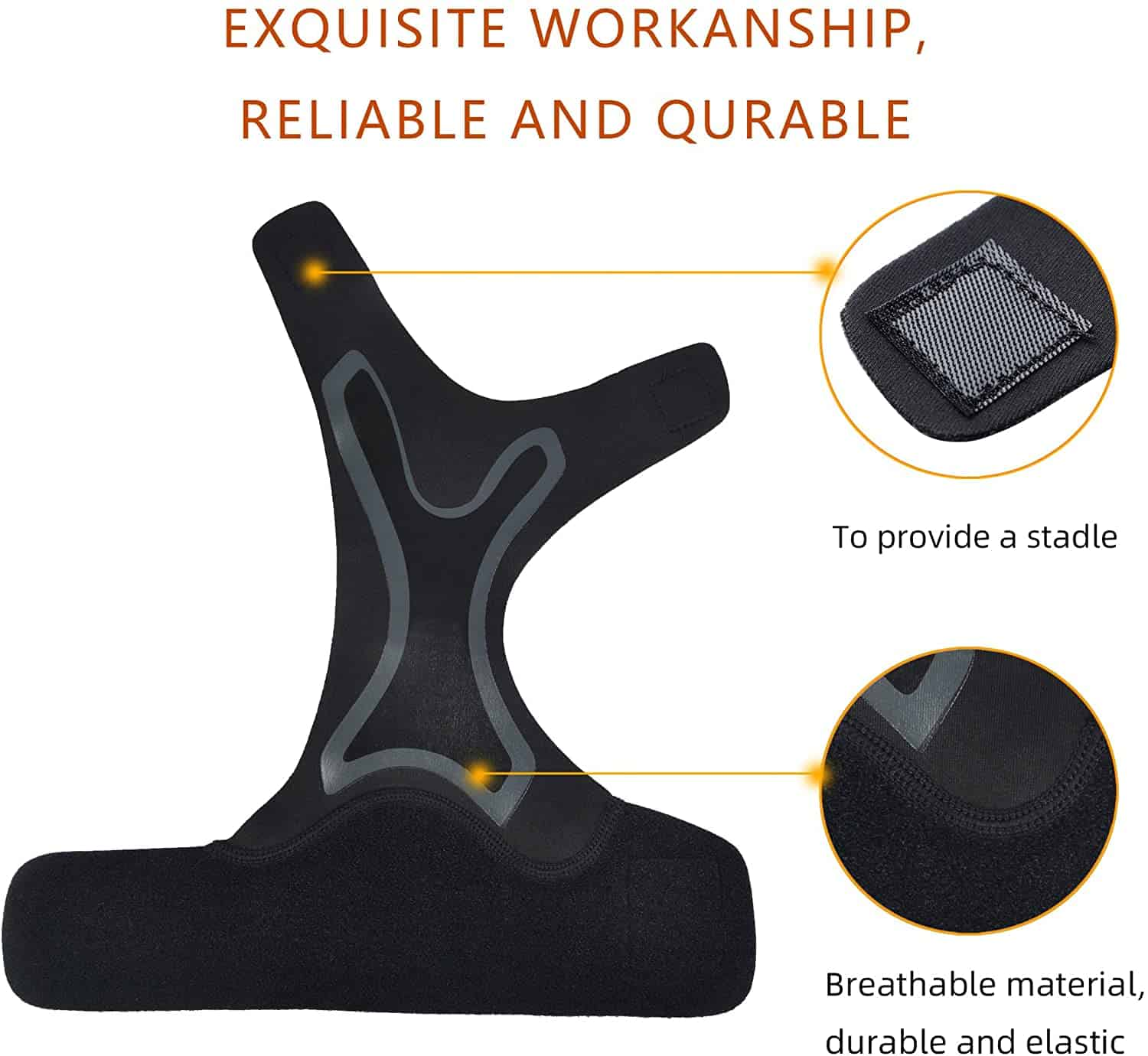 Ankle Support with Adjustable Strap, ankle support, ankle guard, ankle brace, ankle brace for sprain, aircast ankle brace, ankle support brace, ankle support strap, best ankle support