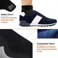 Ankle Support with Adjustable Strap4