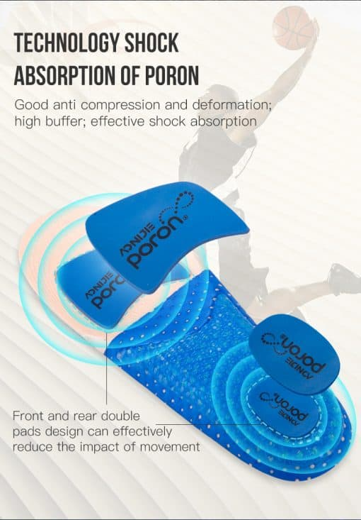 Aonijie Running Silicone Insoles4
