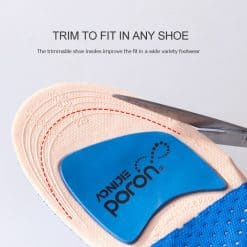 Aonijie Running Silicone Insoles6