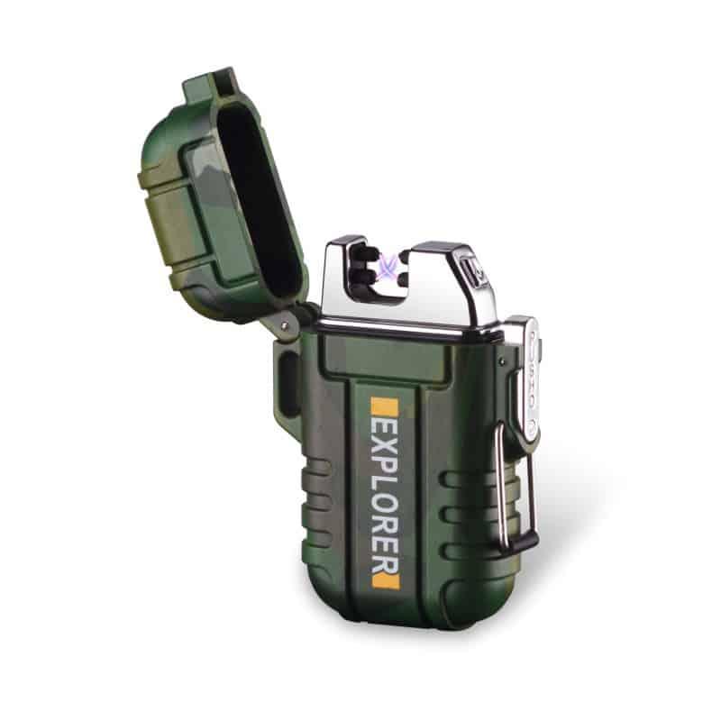 Explorer Waterproof Rechargeable Lighter, rechargeable lighter, usb lighter, tesla lighter, flameless lighter, usb rechargeable lighter, electric candle lighter, charging lighter, lighter electric, best rechargeable lighter