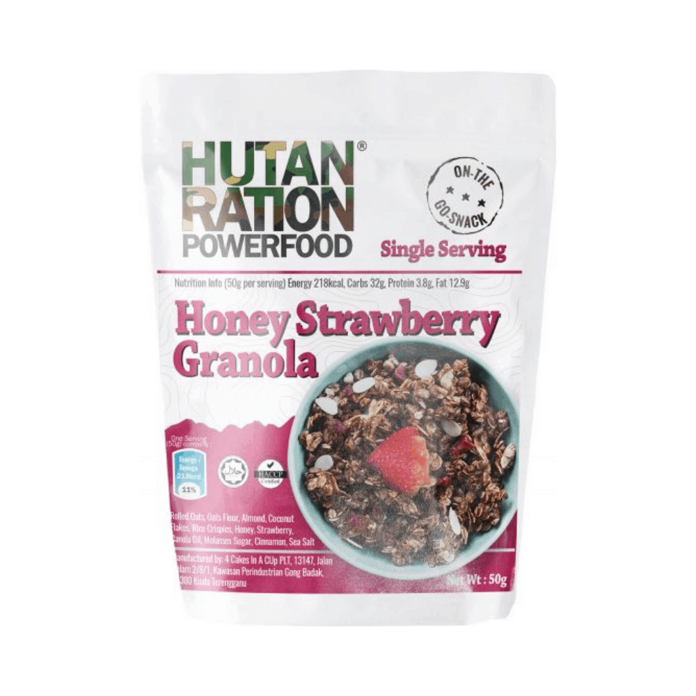 HUTAN Ration Granola Variety Pack