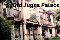 Jugra palace ruins, bukit jugra