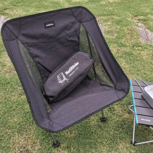 NATUREHIKE Portable Outdoor Folding Camping Chair 4