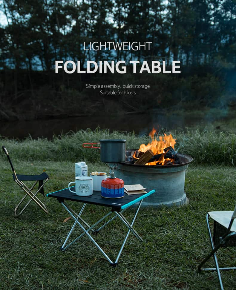 Naturehike Lightweight Foldable Camping Table, Naturehike, Naturehike Malaysia, Folding Camping Table, Portable Camping Table, Best Camping Table, Small Camping Table, Meja Perkhemahan, Portable Picnic Table, Travel Outdoor Barbeque Camping Table