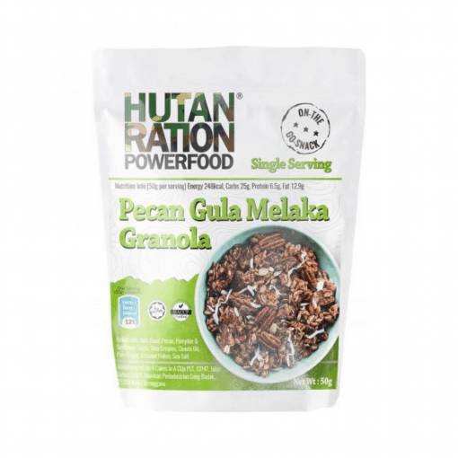 HUTAN RATION Granola Variety Pack, hutan ration, hutan ration granola, hutan ration powerfood