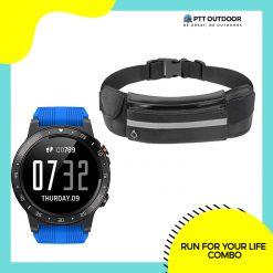 Run For Your Life Combo, run, combo, running, performance, accessories, runners, smartwatch, running belt, lightweight, water-resistant